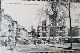 Bruxelles : église Sainte Catherine - Lanen, Boulevards