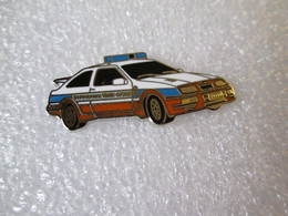 PIN'S FORD SIERRA RS COSWORTH GENDARMERIE LUXEMBOURG Email Grand Feu DEHA - Ford