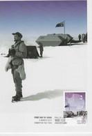 Australian Antarctic Territory  2012 Phillip Law ,Iceberg Gap Camp,maximum Card - Tarjetas – Máxima