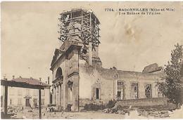 """BADONVILLER """"Les Ruines De L'église"""" - Other Municipalities"""