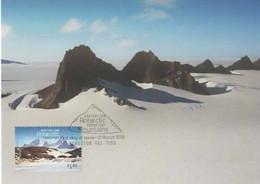 Australian Antarctic Territory  2013 Mountains,David Range,maximum Card - Tarjetas – Máxima