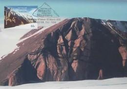 Australian Antarctic Territory  2013 Mountains,Mawson Escarpment,maximum Card - Tarjetas – Máxima