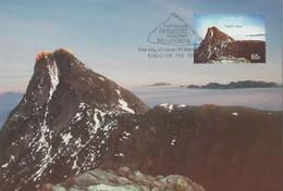 Australian Antarctic Territory  2013 Mountains,Mt Parsins,maximum Card - Tarjetas – Máxima