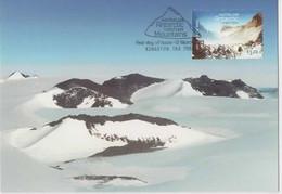 Australian Antarctic Territory  2013 Mountains,South Masson Range,maximum Card - Tarjetas – Máxima