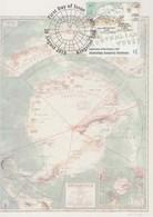 Australian Antarctic Territory  2019 Division Of National Mapping,1939,maximum Card - Tarjetas – Máxima