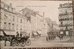Bruxelles : Place Du Palais De Justice - Lanen, Boulevards