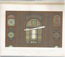 VITRAUX DU SANCTUAIRE DE LA MOSQUEE EL ACZA A JERUSALEM ISRAEL 1883 AL AQSA OU AL AKSA ISLAM - Unclassified