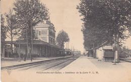 69-VILLEFRANCHE SUR SAONE INTERIEUR DE LA GARE - Villefranche-sur-Saone