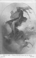 H. Darien (Salon 1908) - Panneau Décoratif L'Aurore - Malerei & Gemälde