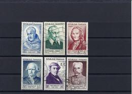 Frankreich Mi.965-970 Gestempelt Kat.40,-€ - Used Stamps