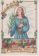 SAINTE CECILE(BARRE ET DAYEZ) LUTHIER_MUSICIEN_CHANTEUR - 1900-1949