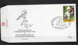 Année 2001 : FDC 3048 - Hergé : Tintin Kuifje - Obli. Mechelen - 2001-10