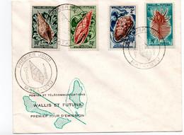 Wallis Et Futuna - Premier  Jour -  Mata  Utu - 20 Sepembre 1962  - Phila °EL - FDC