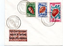 Wallis Et Futuna - Premier  Jour -  Mata  Utu - Premier   Avril  1963  - Phila °EL - FDC