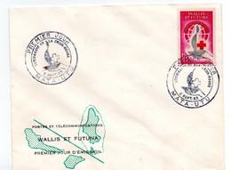 Wallis Et Futuna - Premier  Jour -  Croix Rouge -  Mata  Utu - 2 Septembre 1963  - Phila °EL - FDC
