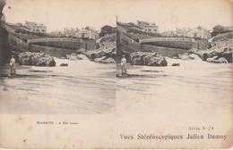 64 - BIARRITZ -  Vues Stéréoscopiques Julien Damoy - Cartoline Stereoscopiche