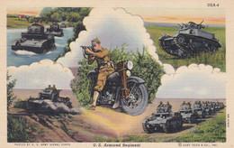 U.S. Armoured Regiment Moto Char Tank - Guerra 1939-45