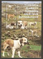 2013 Turkmenistan. Central Asian Shepherd Dog / Alabay . Block  ** - Turkmenistan