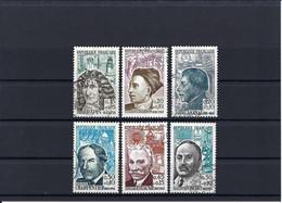 Frankreich Mi.1399-1404 Gestempelt Kat.13,-€ - Used Stamps