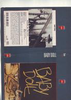 Jaquette Pour Boitier Video K7 Ou Recoupe Dvd  Baby Doll - Unclassified