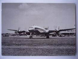 Avion / Airplane / AIR FRANCE / Lockheed Constellation / Seen At Basel-Mulhouse Airport / Aéroport / Lufthafen - 1946-....: Era Moderna