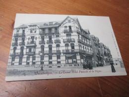 Duinbergen, Le Grand Hotel Pauwels Et La Digue - Knokke