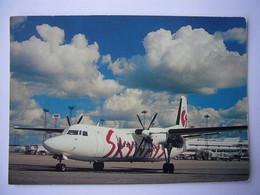 Avion / Airplane / SKYWAYS / Fokker 50 / Registerd As SE-LEA - 1946-....: Era Moderna