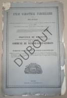 SINT JORIS WINGE/Tielt-Winge/Kanton Glabbeek  Popp: Matrice Cadastrale - Gedrukt Brugge ±1860 (PP201) - Other