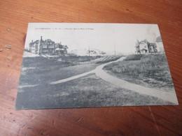 Duinbergen, Chemin Dans Le Parc Et Villas - Knokke