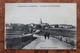 ENVIRONS DE RETOURNAC (43) - VUE GENERALE DE SARLANGE - Altri Comuni