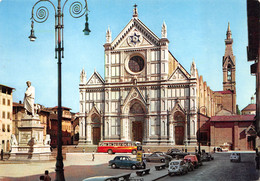 Firenze (Italie) - Piazza S. Croce - Automobiles - Firenze (Florence)