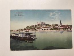 Slovakia 161 Pozsony Bratislava 1914  Danube River - Eslovaquia