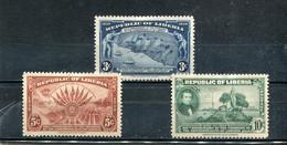 Liberia 1940 Yt 251-253 * - Liberia
