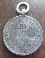 Allemagne / Prusse / Preussen - Médaille Commémorative Guerre 1870-1971 - Fer - Duitsland