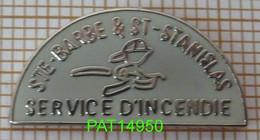 POMPIERS Du CANADA  SERVICE D'INCENDIE  STE BARBE & ST STANISLAS ( De Kostha ) En Version EGF - Firemen