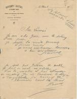 LE BLANC, 36 - Lettre Buffet-Hôtel BOIDRON - 1900 – 1949