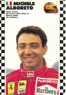 SAISON 1986 1987 DE FORMULE 1 CHAMPIONNAT DU MONDE - MICHELE ALBORETO ITALIEN FERRARI ... VIT A MONACO - Altri