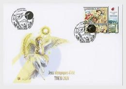Luxemburg / Luxembourg - Postfris / MNH - FDC Olympische Spelen Tokyo 2021 - Unused Stamps