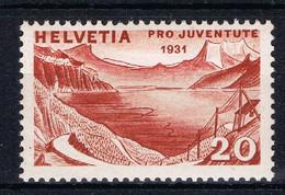K 111 ++ SWITZERLAND LA SUISSE ZWITSERLAND SCHWEIZ 1931 UNGEBRAUCHT FALZ HINGED - Used Stamps
