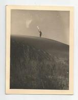 Photographie Homme Maillot De Bains Sur Sable Photo 6,8 X 9 Cm Env - Personnes Anonymes