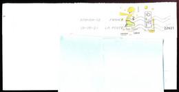 """Timbre Postal Adhésif (2021) """"Le Petit Prince, 75 Ans"""" Seul Sur Lettre - 1961-...."""