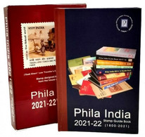 India PHILA INDIA STAMPS GUIDE BOOK 1800-2021 (**) Inde Indien LIMITED + Dust Cover - Other