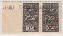 ALGERIE - COLIS POSTAUX - N°70 ** En Paire (1941) - Colis Postaux