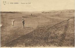 7. COQ S/MER - DEN HAAN A/ZEE : Joueurs De Golf - De Haan