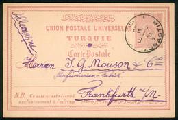 Turkey GA-Karte Michel Nr. P 16 O Monastir PS Card Gg89 - Interi Postali