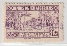 ALGERIE - COLIS POSTAUX - N°92 Nsg (1941-42) 8f25 Lilas - Colis Postaux