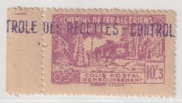 ALGERIE - COLIS POSTAUX - N°124 ** (1943) 10f3 Lilas - Colis Postaux