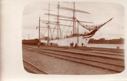 DC772 - Ak Schöne Motivkarte Schiff Segelschiff Hafen Gdansk Foto-Karte - Altri