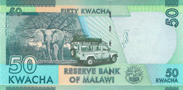 50 (Twenty) Kwacha Malawi UNC 2016 - Malawi