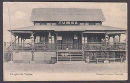 CPA -  Congo Kinshasa - TUMBA La Gare De Tumba - Kinshasa - Leopoldville